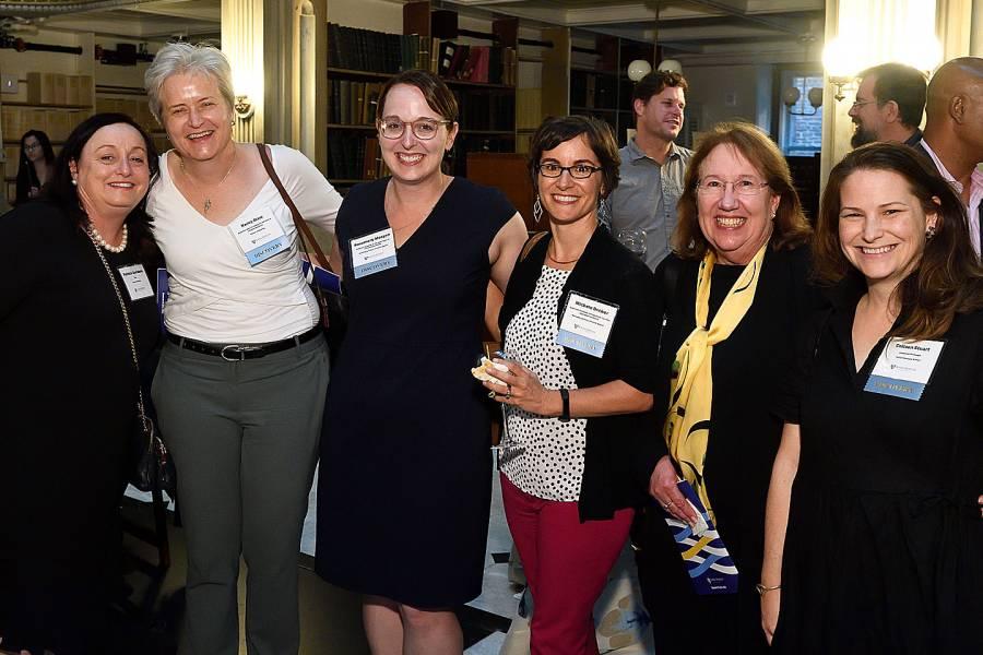 Patricia Davidson, Nancy Glass, Rosemary Morgan, Michele Decker, Toni Ungaretti, and Colleen Stuart