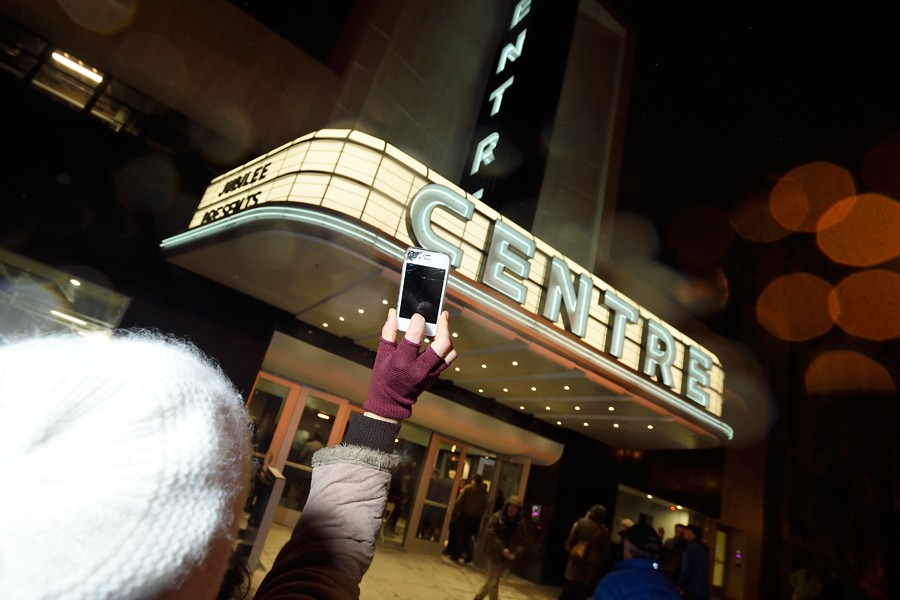 Centre Theater marquee