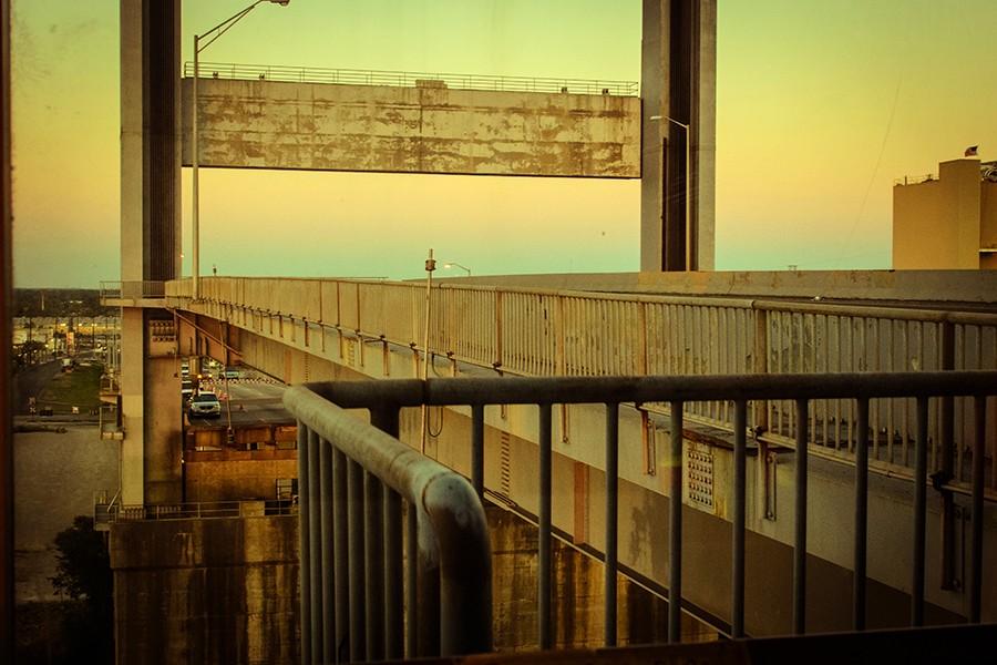 The Danziger Bridge in New Orleans