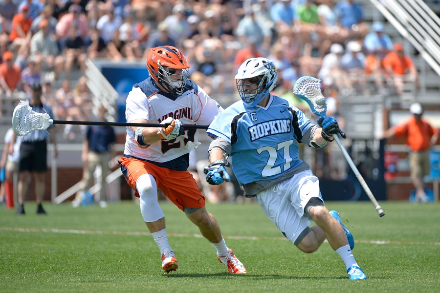 Men's lacrosse: Johns Hopkins finishes strong, tops Virginia in NCAA first round | Hub