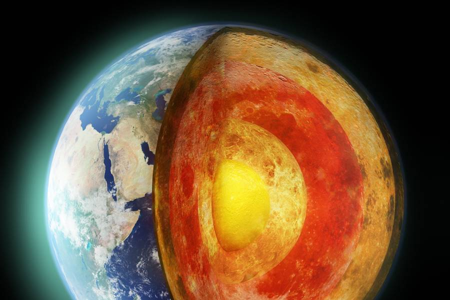 Scientists take a page from deep space to study deep earth #104411