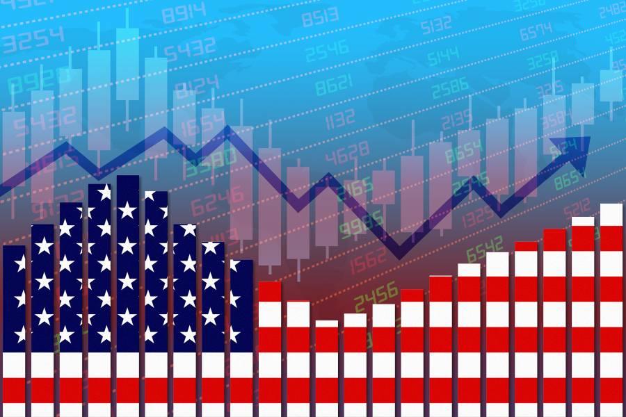 Economic recovery illustration