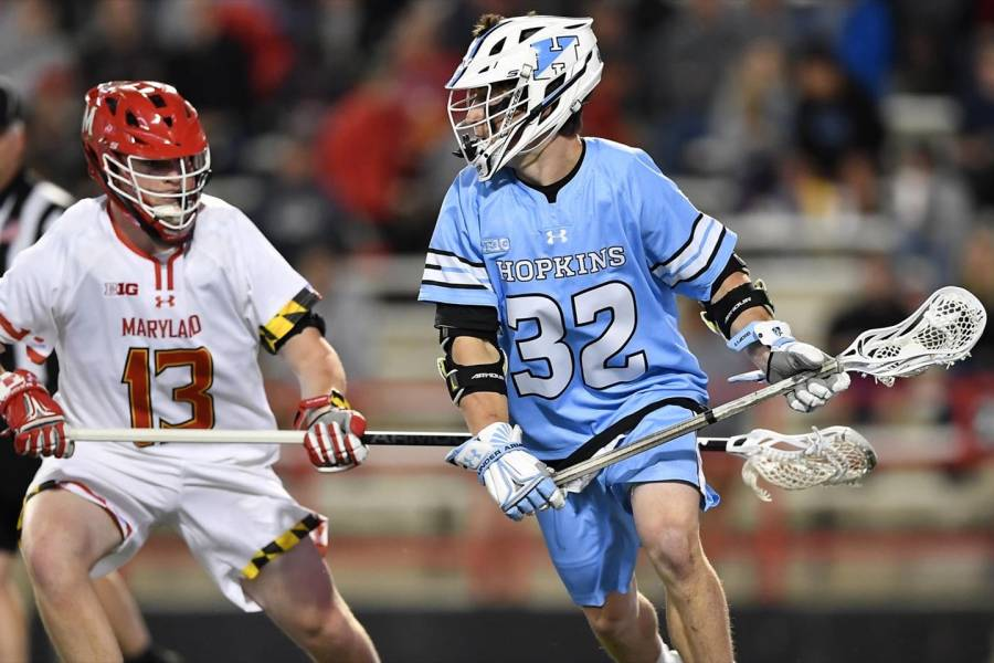 Johns Hopkins attackman Joey Epstein