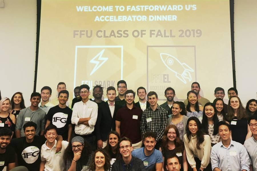 FastForward U Fall Accelerator Program teams