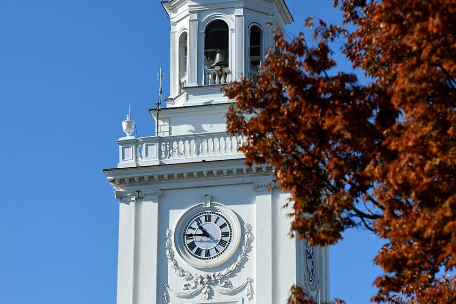 Homewood campus in fall