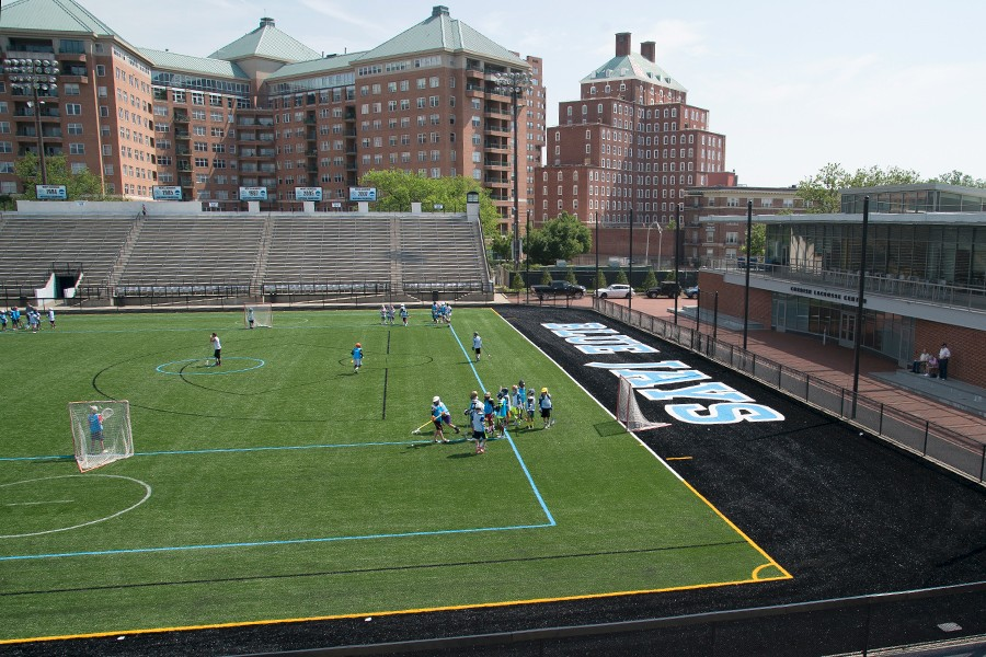 New Playing Surface At Jhu S Homewood Field Ready For