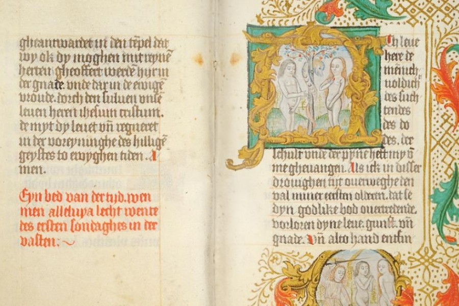 Prayer Book of Hans Luneborch, in Low German