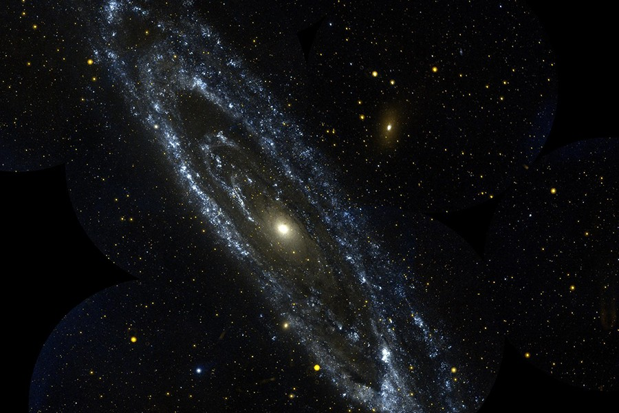 Image of a galaxy in outer space