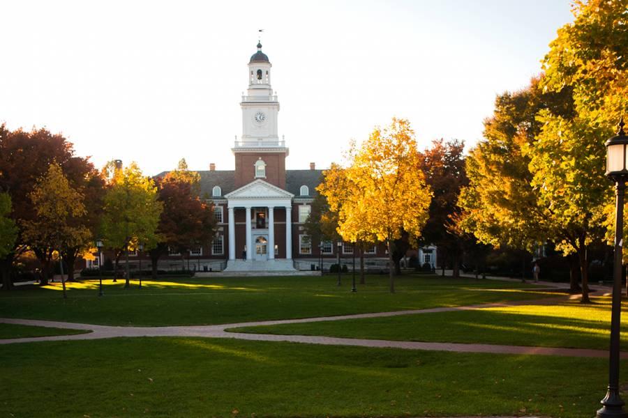 Gilman Hall at Johns Hopkins University