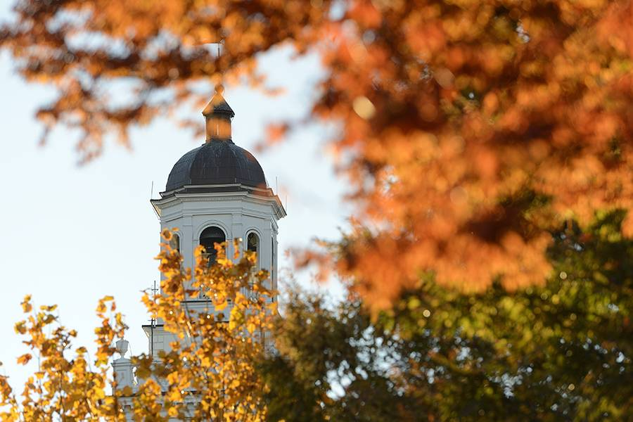 Gilman Hall tower