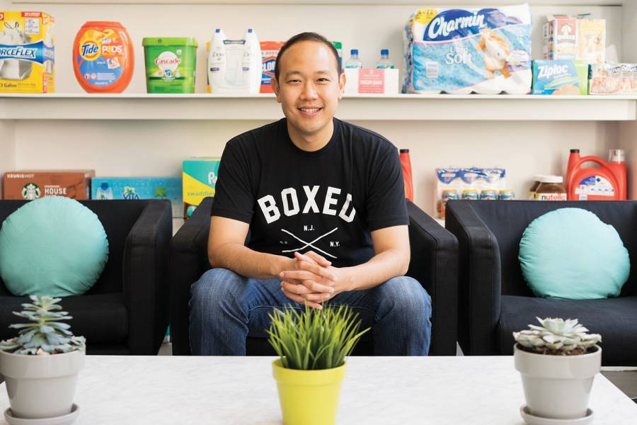 Chieh Huang, CEO of Boxed
