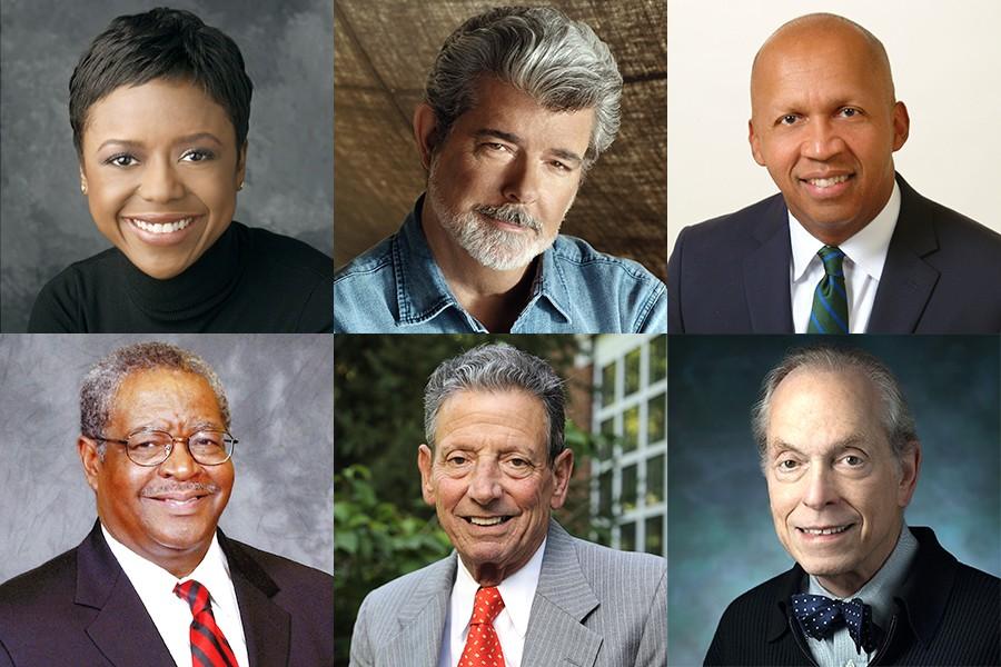 2018 Johns Hopkins University honorary degree recipients