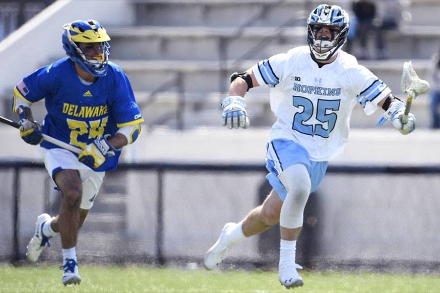 Johns Hopkins vs. Delaware men's lacrosse