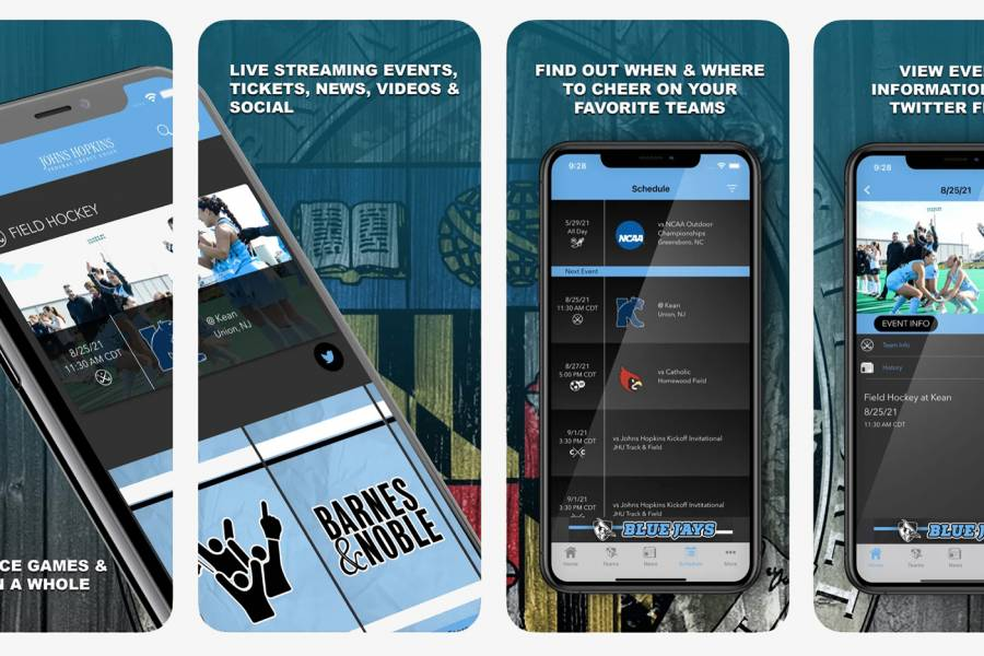 Hopkins Sports app