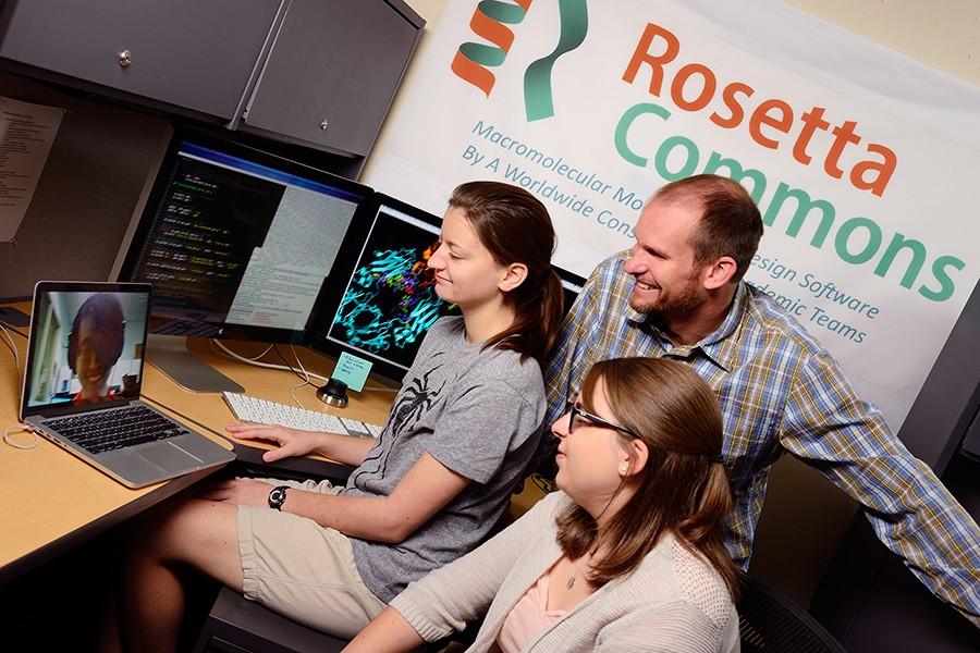 Rosetta Commons facilitates collaborative research