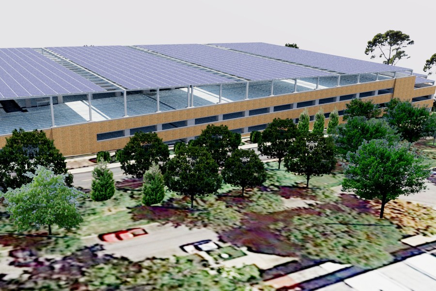 Hopkins looks to the sun on clean energy projects hub for Hopkins cad