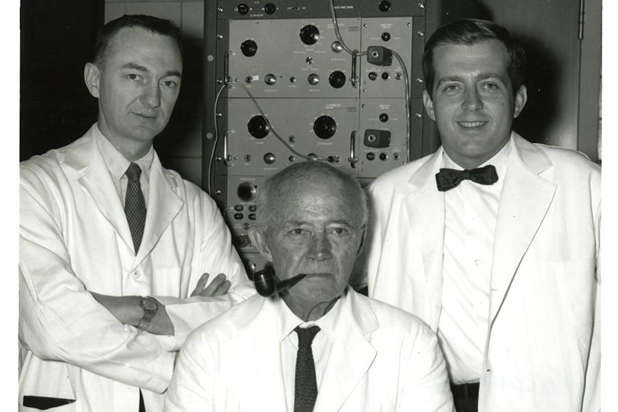 James Jude, William Kouwenhoven, and Guy Knickerbocker