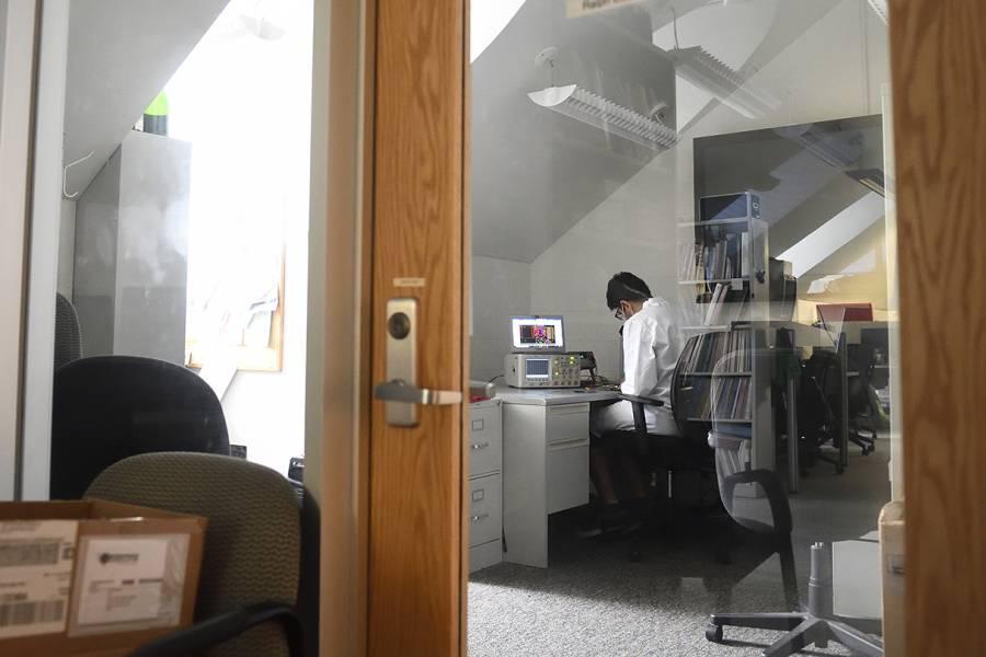 Postdoctoral fellow Milad Alemohammad begins work in the Ralph Etienne-Cummings lab