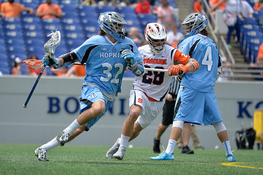 Men's lacrosse: Johns Hopkins withstands Syracuse rally to punch ticket to Final Four | Hub
