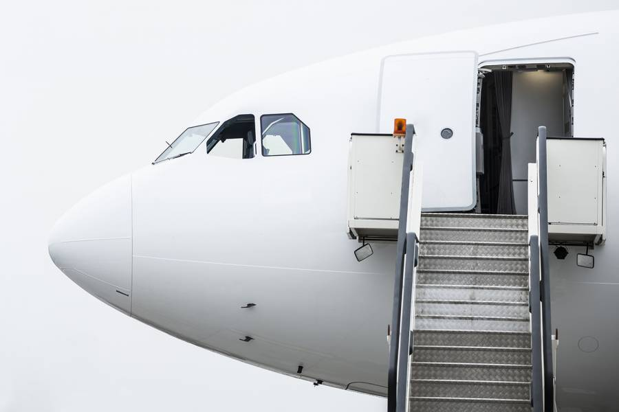 Plane exterior