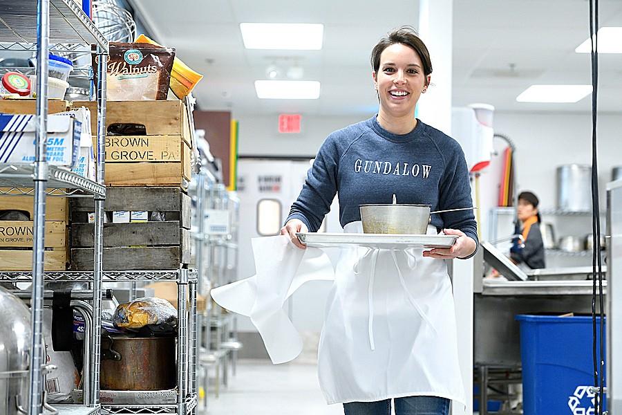 Gundalow Gourmet founder Dana Sicko