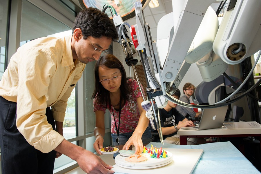 Program note: Johns Hopkins now offers master's degree in robotics ...