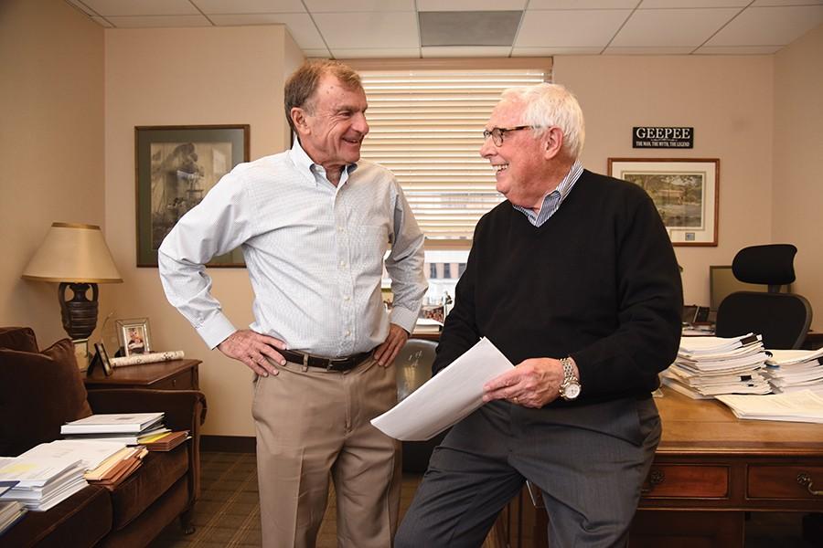 Stanley Fine (left) and Ben Rosenberg
