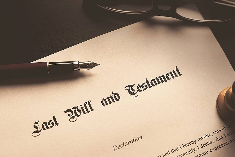 Image of a will