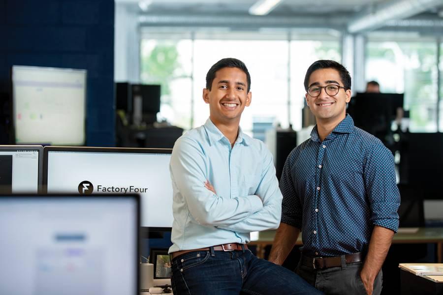 Param Shah and Alex Mathews