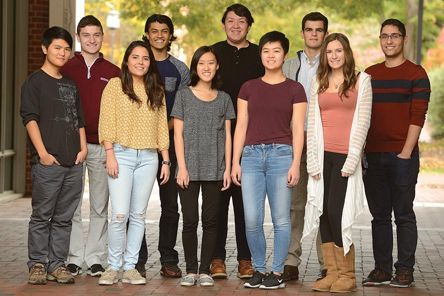 The inaugural class of Clark Scholars
