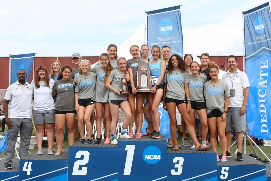 Johns Hopkins women's track team