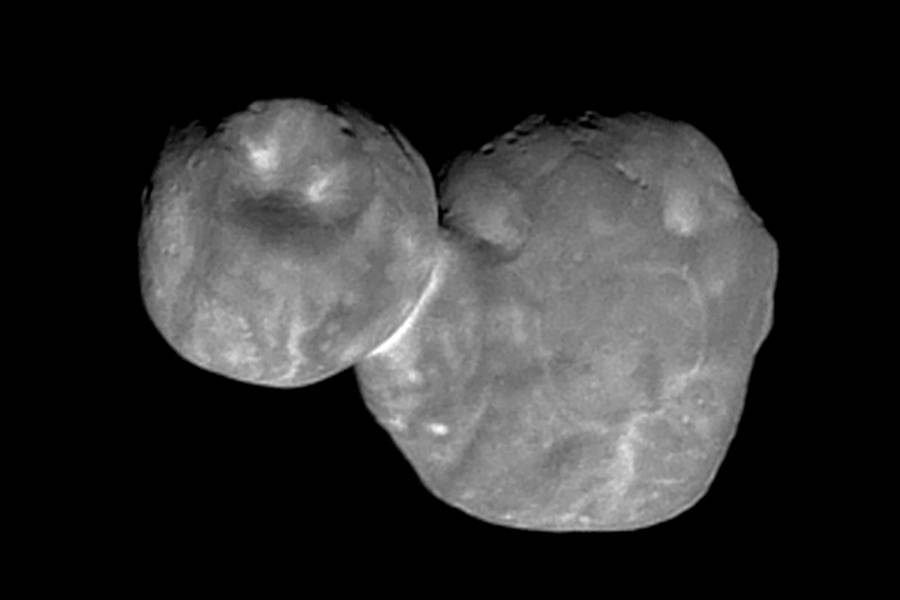 Ultima Thule image from New Horizons