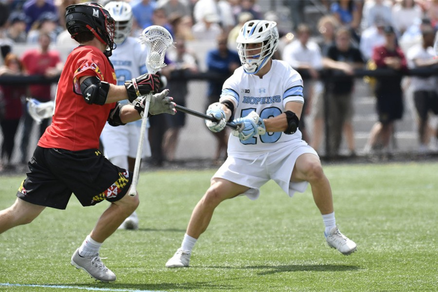 A Maryland attacked looks for room to maneuver against Johns Hopkins