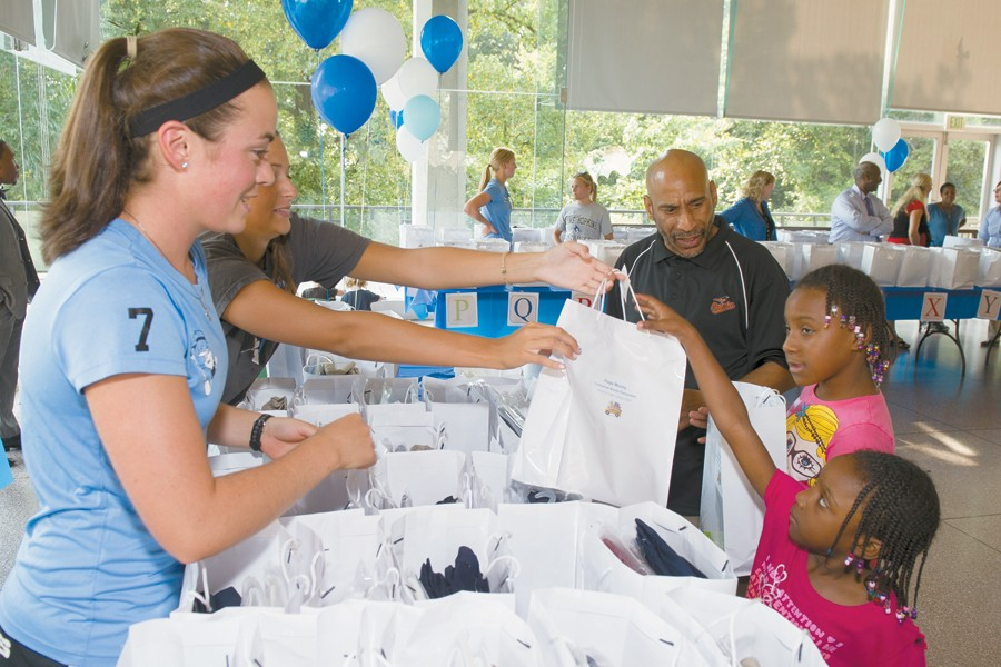 Johns Hopkins uniform drive