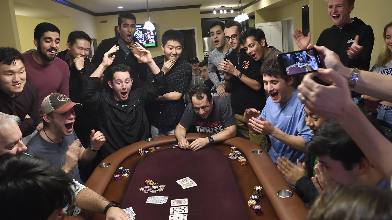Hopkins Professor Wins Big On Poker Class Bet Hub