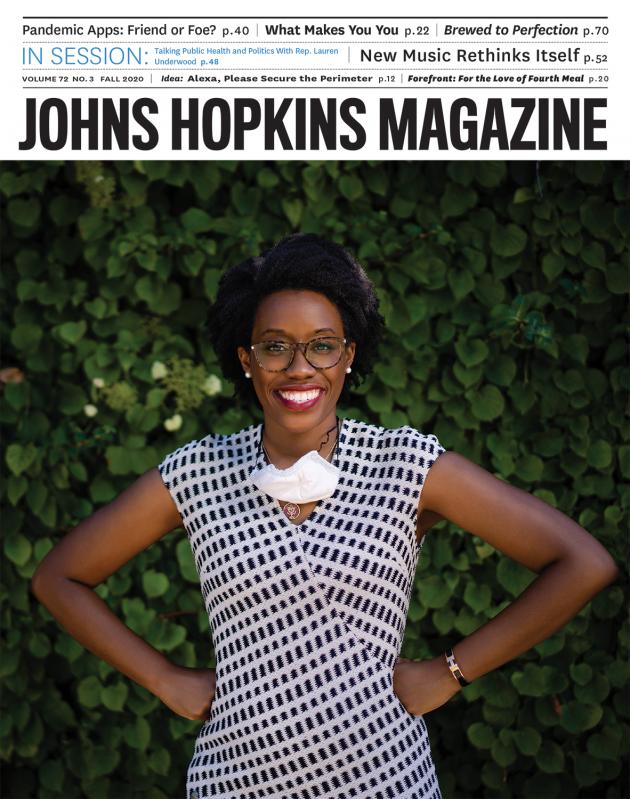 Cover of fall issue features U.S. Congresswoman Lauren Underwood