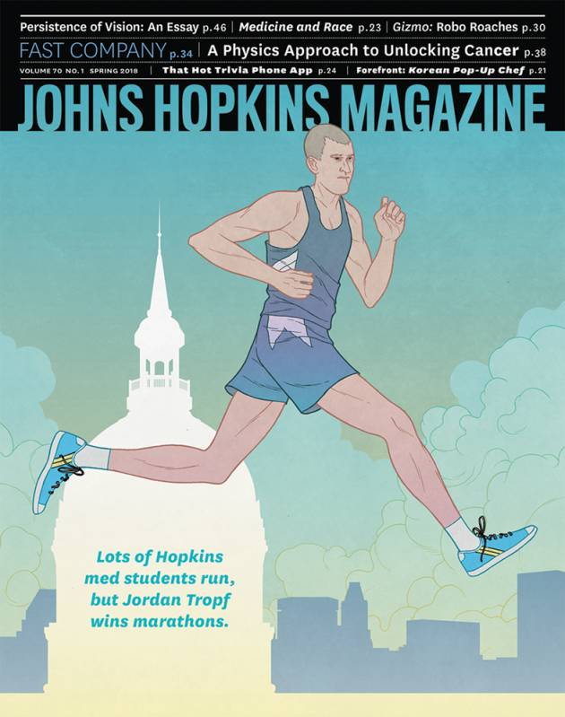 Cover of the Spring 2018 issue